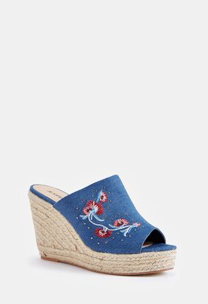 Ditya Wedge Mule