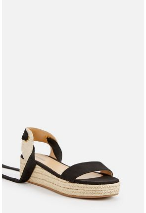 Briella Lace-Up Wedge