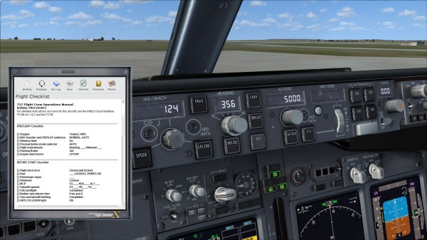 Checklists Jf 737ngx Waypoint - Year of Clean Water