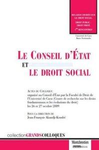 Conseil d'Etat et droit social
