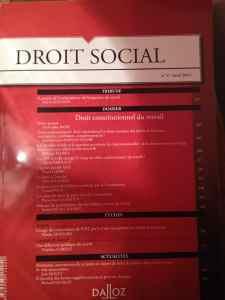 Droit social couv