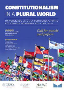 Lancement d'un Colloque international : Le constitutionnalisme dans un monde pluriel