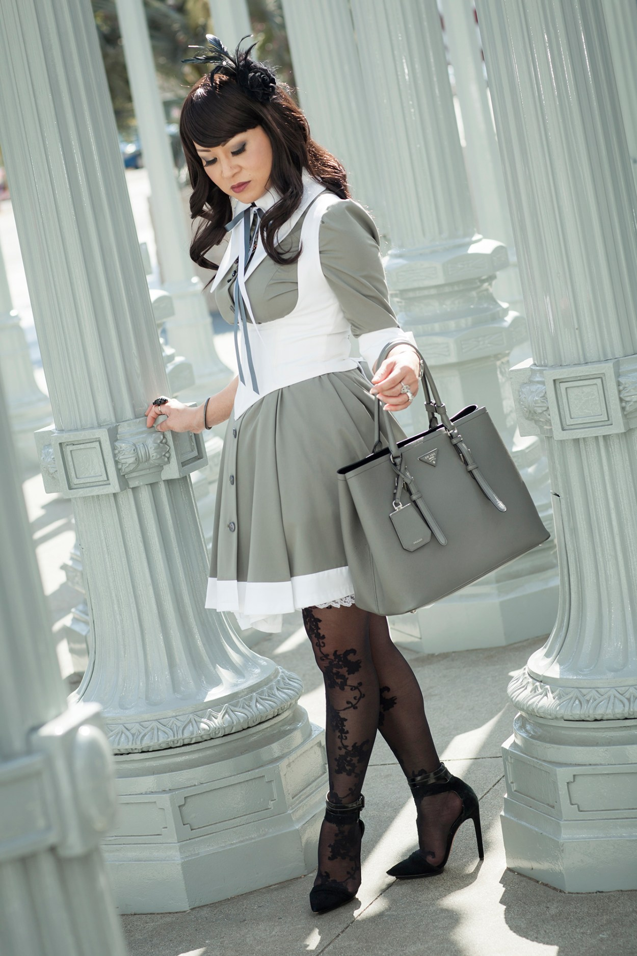 1-Atelier-BOZ-Carol-Neo-Dress-Female-Women-Fashion-Lolita-JFashion-Prada-Urban-Los-Angeles