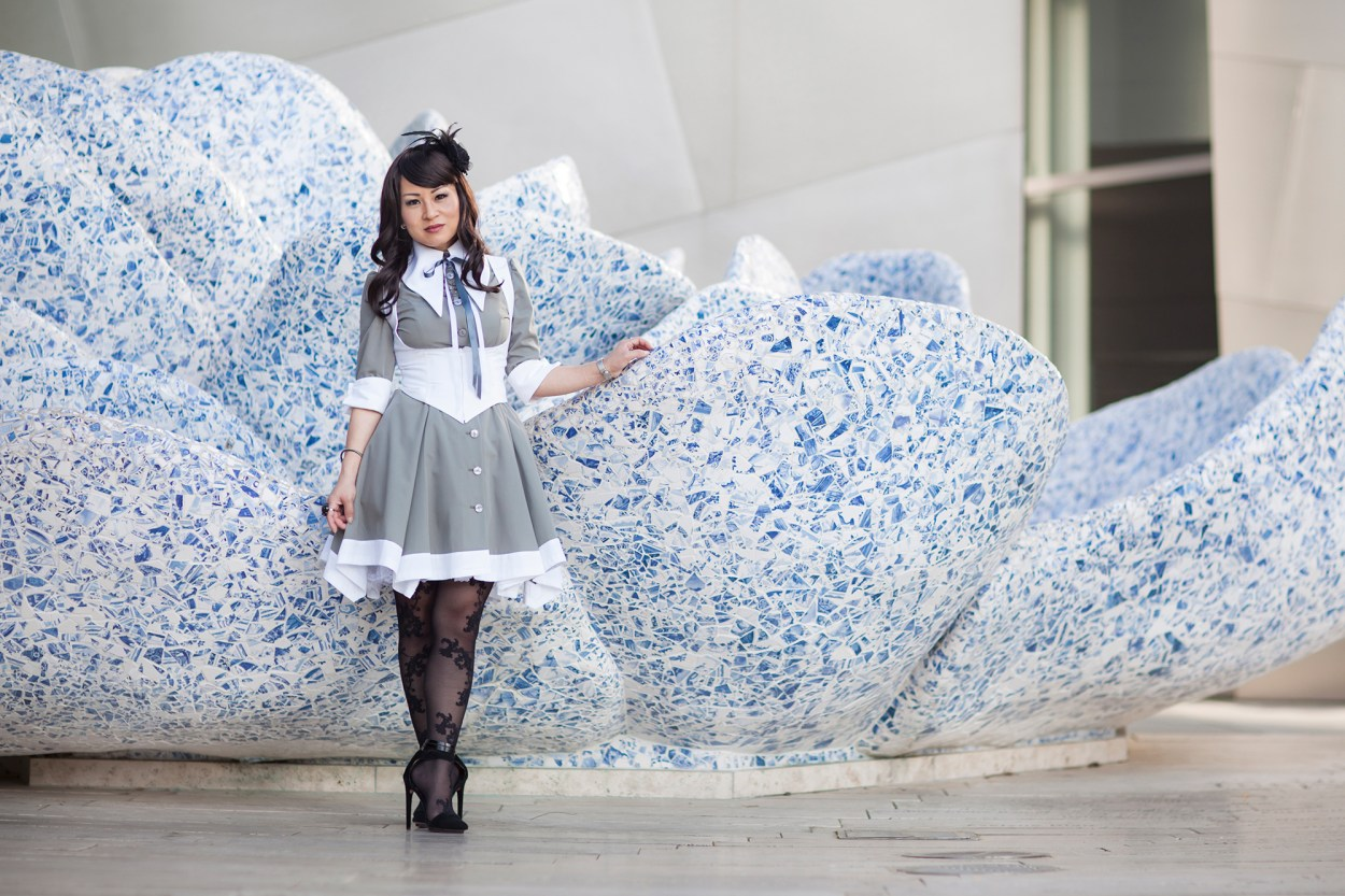15-Atelier-BOZ-Carol-Neo-Dress-Female-Women-Fashion-Lolita-JFashion-Prada-Urban-Disney-Hall-Los-Angeles