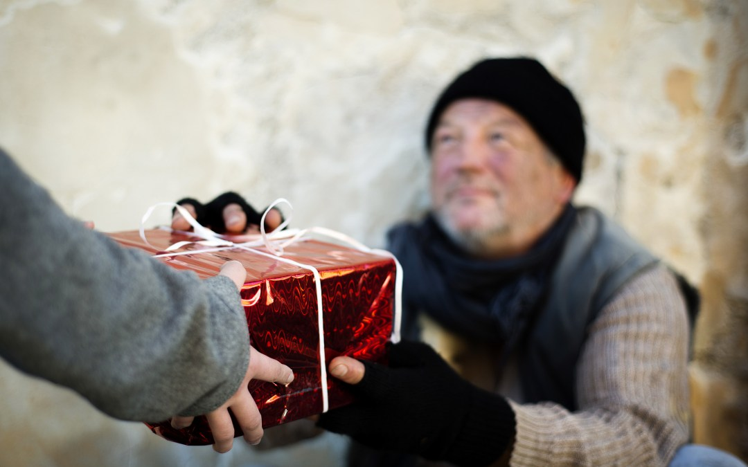 Helping the homeless at Christmas
