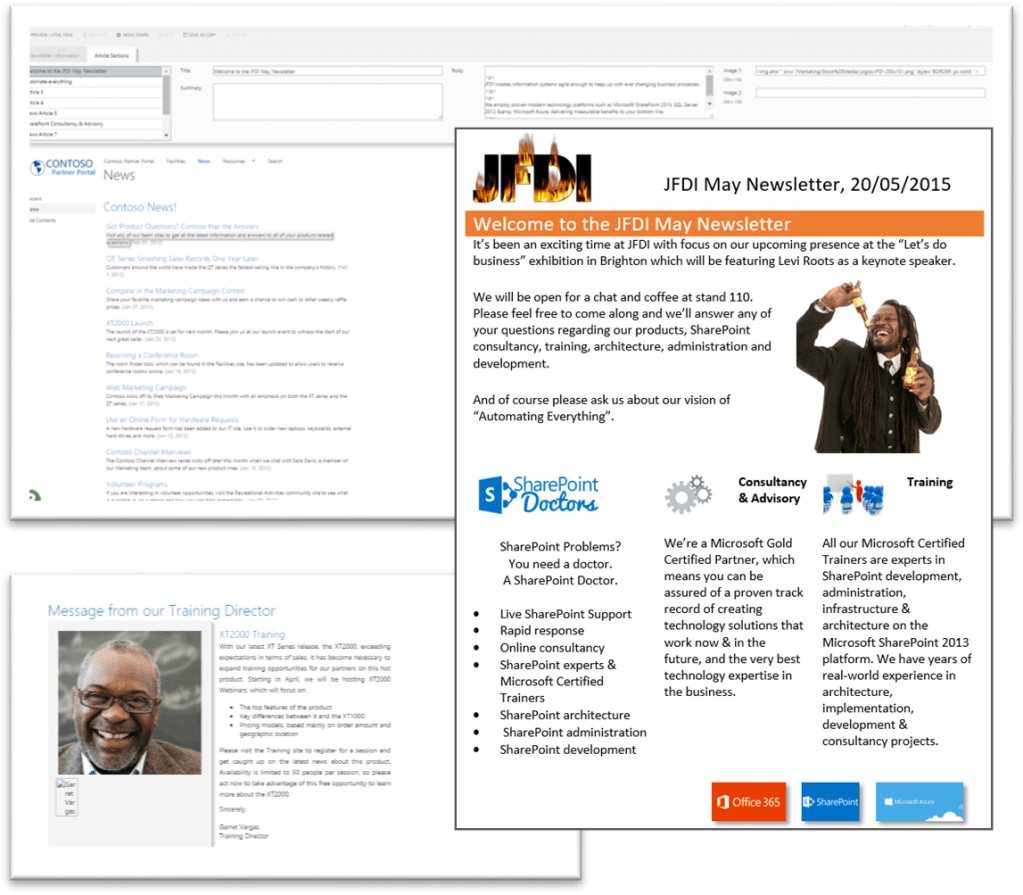 SharePoint Newsletter Creator