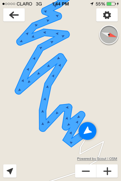 always a fun drive when this is what the GPS looks like.