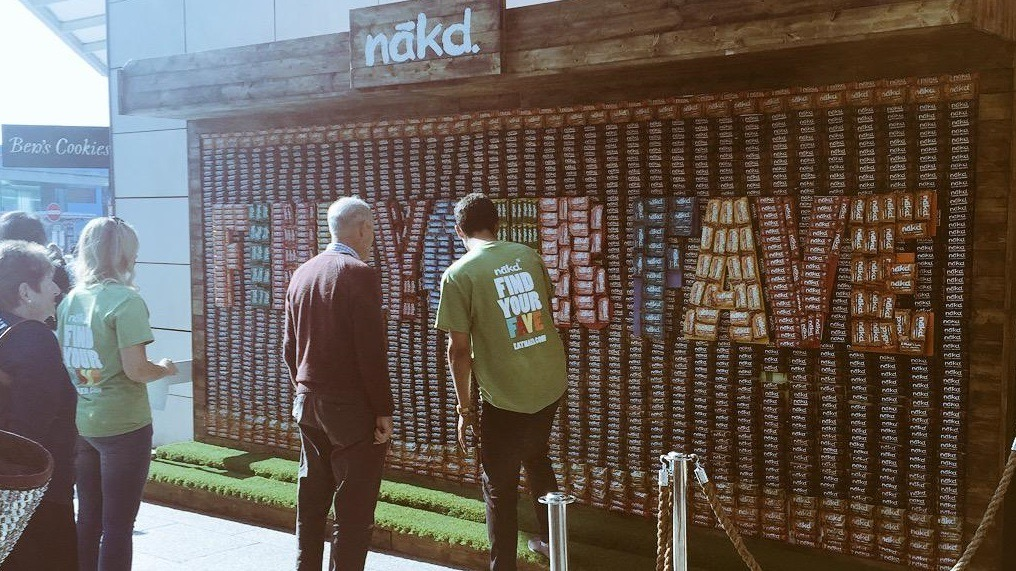 Photo provenant du compte Twitter de Nakd Wholefoods