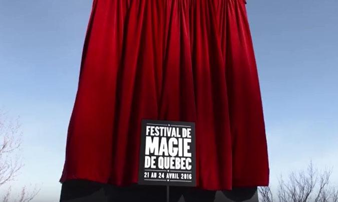 Publicité Festival de magie de Québec