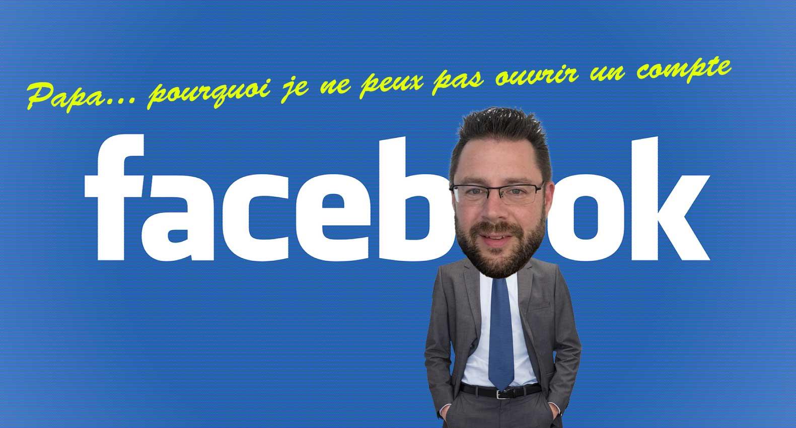 Ouvrir compte Facebook enfant