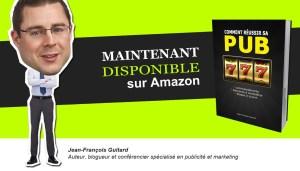 Livre publicité marketing Jean-Francois Guitard