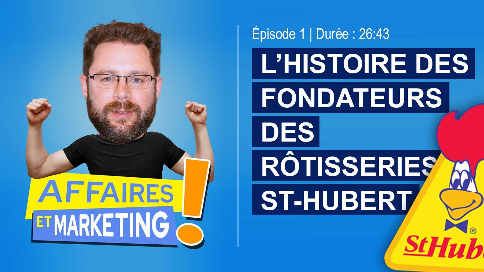 Podcast affaires et marketing - Épisode 1