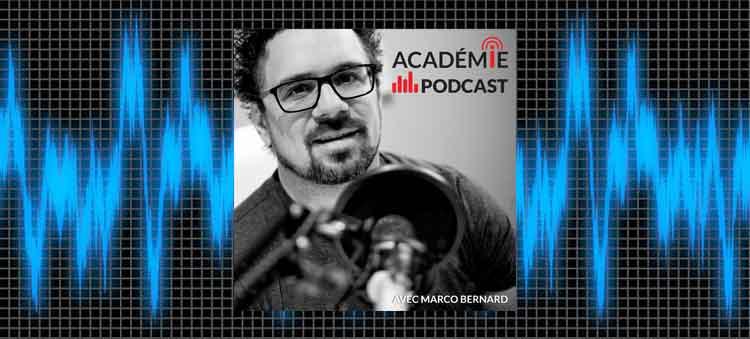 meilleurs podcasts québécois académie