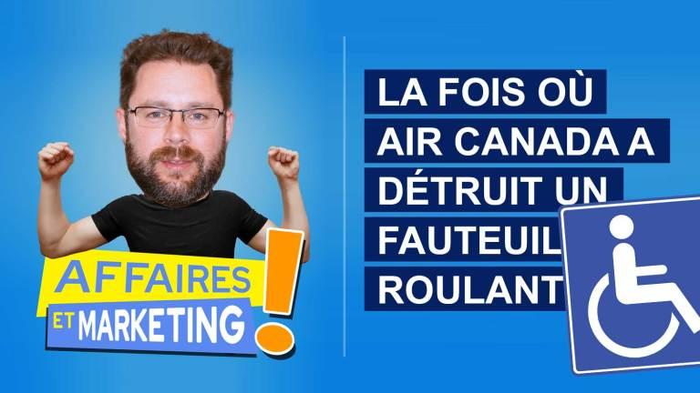 Read more about the article Podcast | E10: La fois où Air Canada a détruit un fauteuil roulant