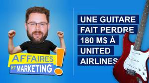 Read more about the article Podcast | E13 : Une guitare fait perdre 180 M$ à United Airlines
