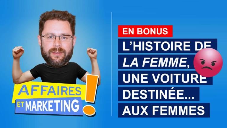 Read more about the article Podcast | E17 (bonus): L'histoire de la Femme, une voiture destinée… aux femmes