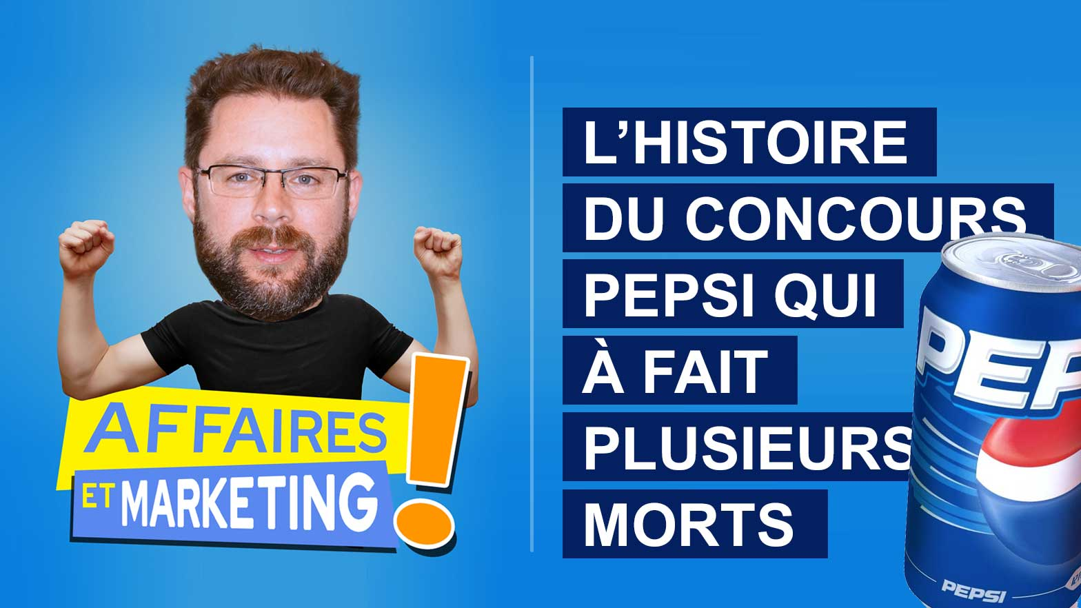 You are currently viewing Podcast | E19: L'histoire du concours Pepsi qui a fait plusieurs morts