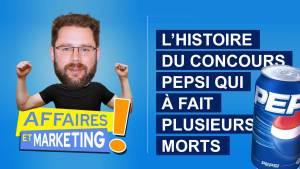 Read more about the article Podcast | E19: L'histoire du concours Pepsi qui a fait plusieurs morts