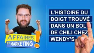 Read more about the article Podcast | E20: L'histoire du doigt trouvé dans un bol de chili chez Wendy's