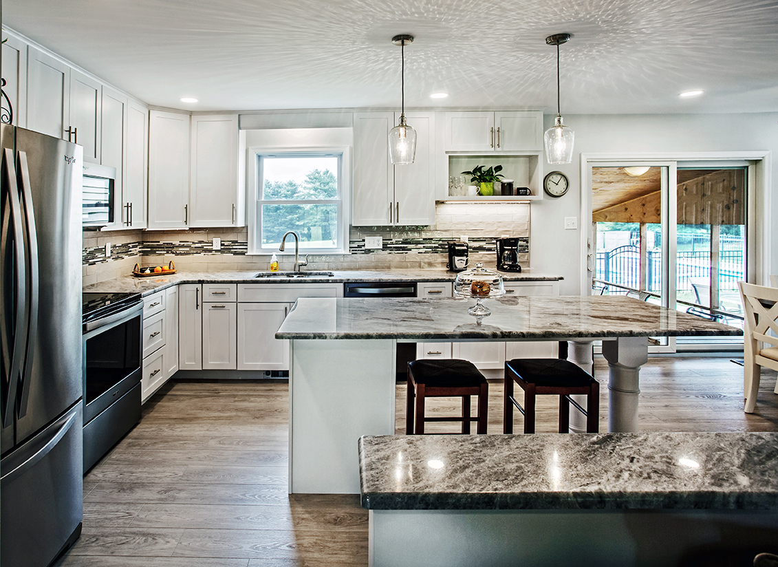 Gorgeous Kitchen Renovation In Potomac Maryland: Kitchen Remodel For New Windsor, MD Family