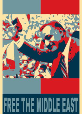 nasser anti colonialist poster