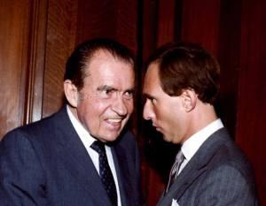 Richard Nixon and Roger Stone