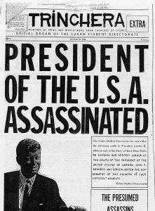 Jfk assassination conspiracy essay