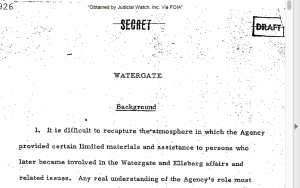 CIA IG Watergate report