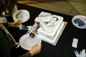 Oswald's birthday cake