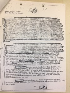 Redacted FBI Oswald doc