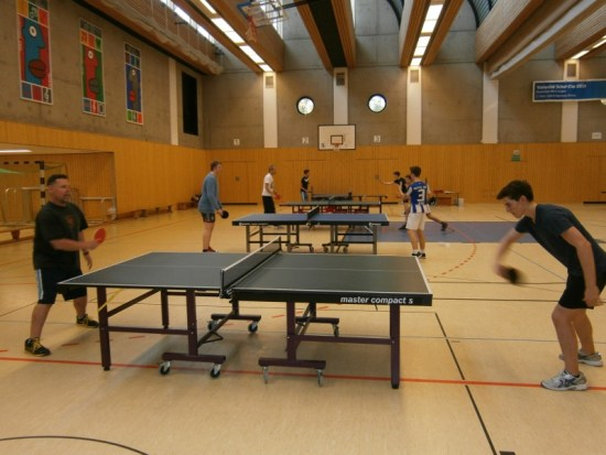 Table Tennis Student-Teacher Championship