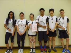 Badminton WK0 Team reached 3rd place at the Landesfinale