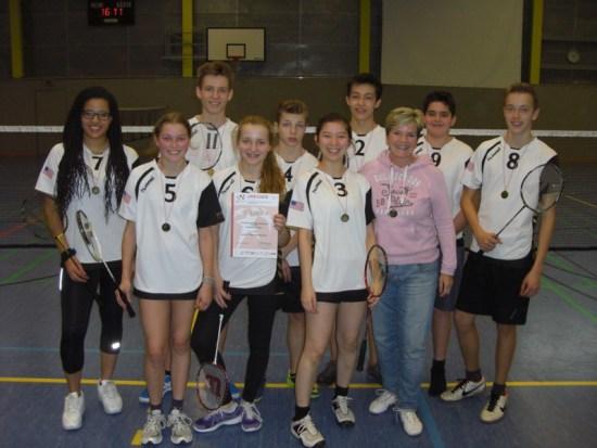 Badminton WKII Feb 2015