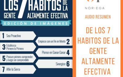 Los 7 Hábitos de la Gente Altamente Efectiva de Stephen Covey | Audio Resumen de Parte 9 y 10