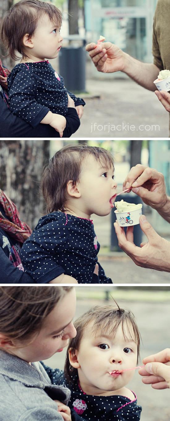 28 April 2013 - 1st gelato julienne