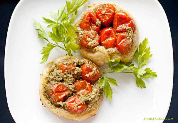 19 July 2013 - Pesto Appetizer Tart