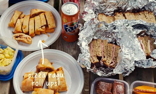 02 July 2013 - Pizza Ragu Roll ups