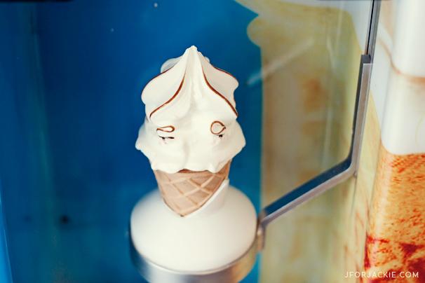 30 June 2013 - Ikea ice cream cone