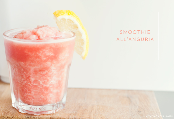 01 August 2013 - Smoothie all'Anguria