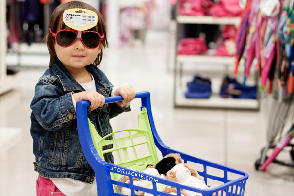 Mini Toy Shopping Cart at Upim