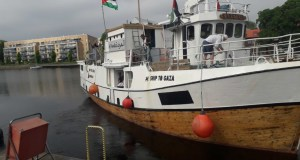 Freedom Flotilla vess #AlAwda (The Return)