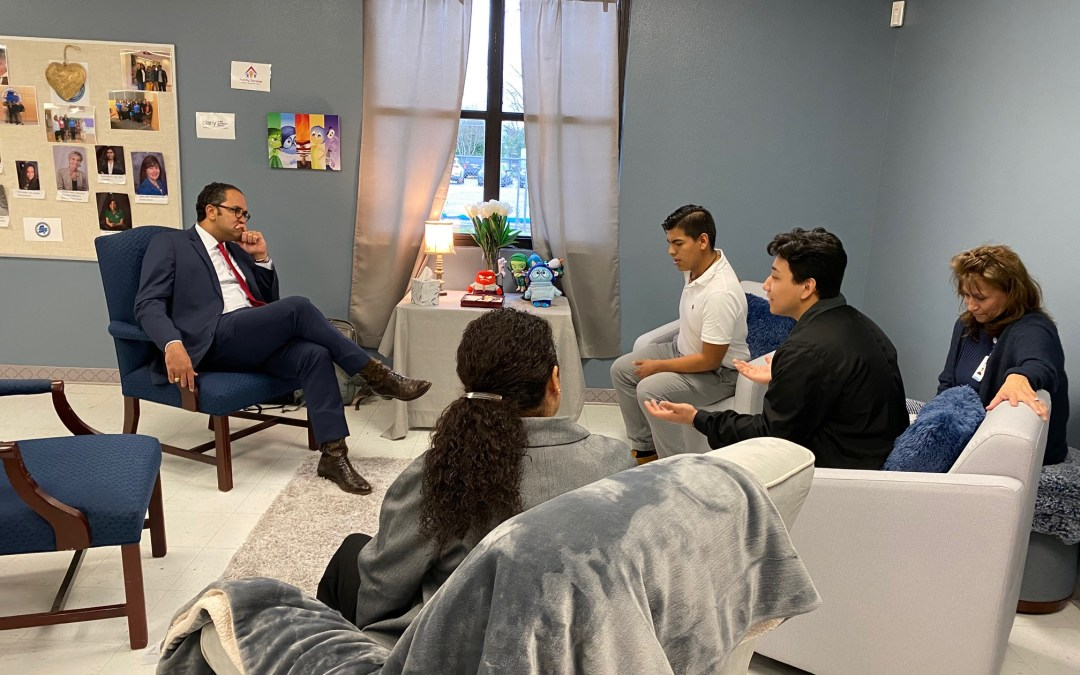 Youth Meet with Congressman Will Hurd About Mental Health