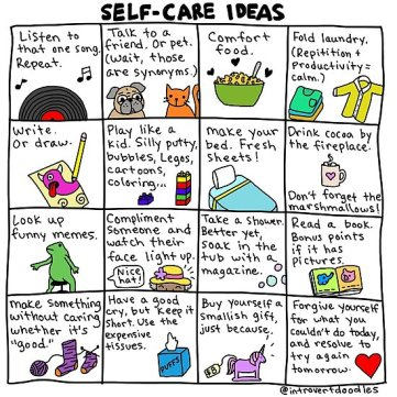self-care ideas