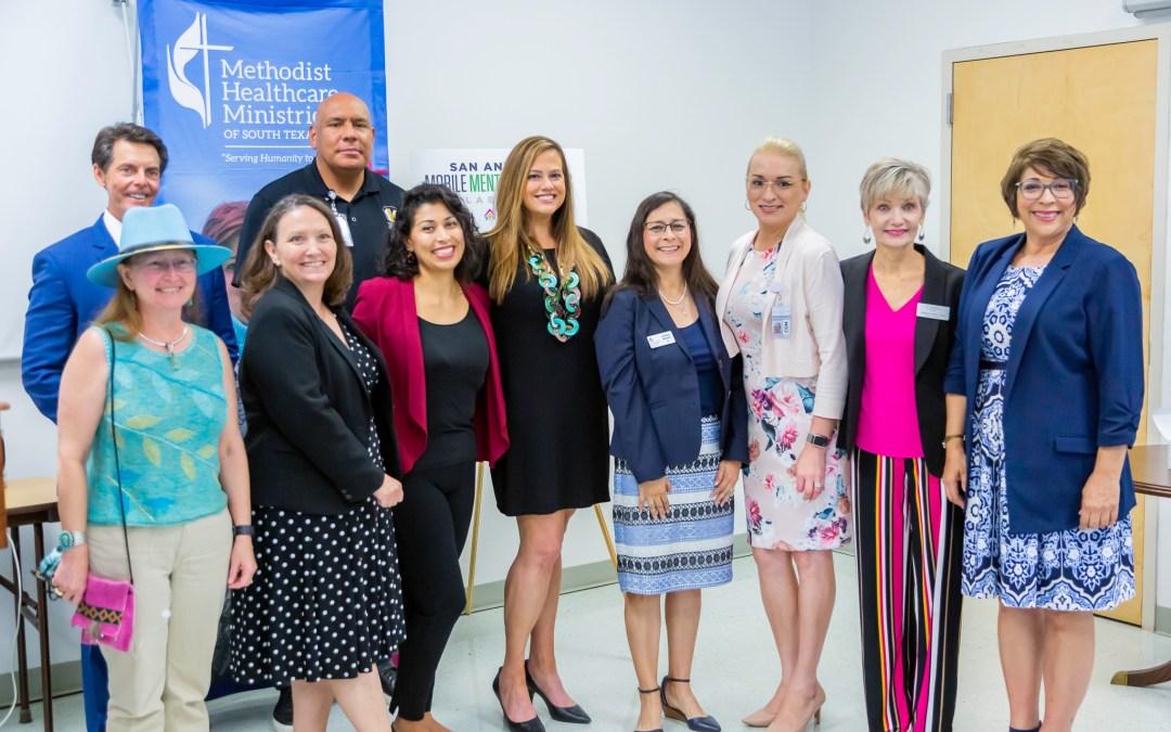 Methodist Healthcare Ministries of South Texas, Inc. to Announce $550,000 grant award to San Antonio Mobile Mental Wellness Collaborative
