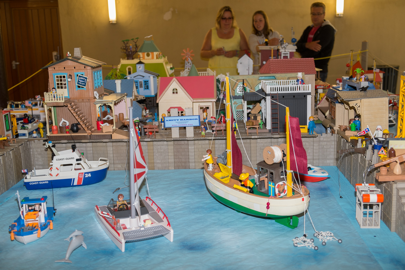 Morlaix Grosse affluence au Salon du Playmobil 2014
