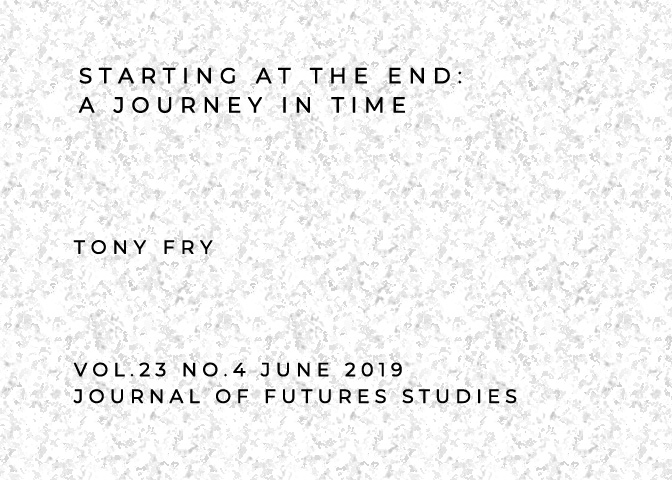 Starting at the End: A Journey in Time * Journal of