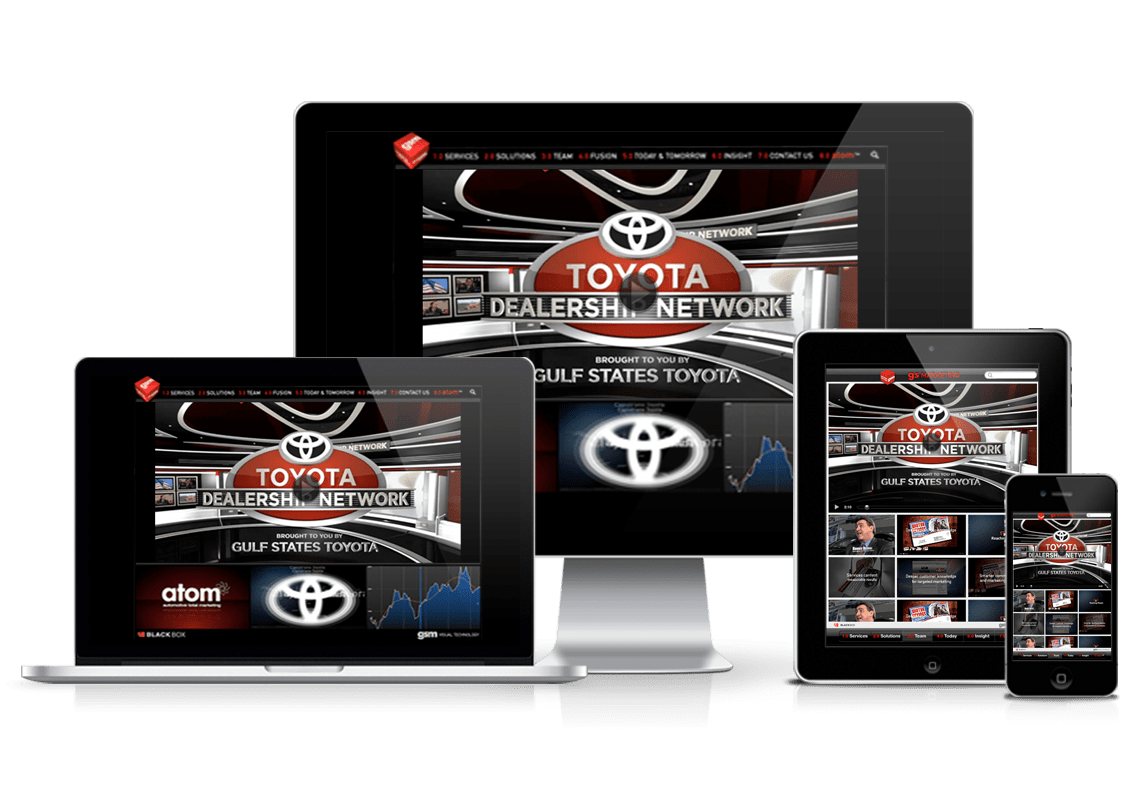 Toyota mobile media library