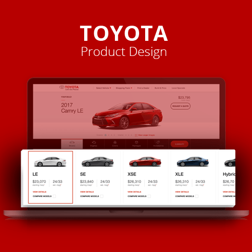 Toyota.com – Build & Price