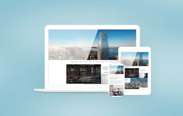 Salesforce Tower Website