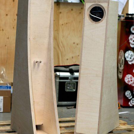 Frugal Horn Mk3 DIY Kit  CNC Cut from 18mm Birch Ply – For Mark Audio Alpair 7, Fostex FE126, Fostex 108 Sigma, or with blank baffle